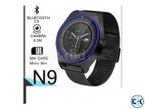 N9 Smart Mobile Watch Sim Supported Metal Body Pedometer wit