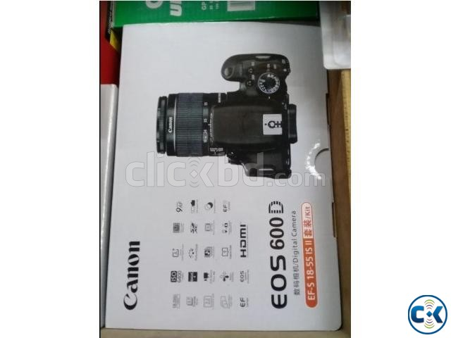 Canon 600D with 18-55mm lens brand new | ClickBD large image 0