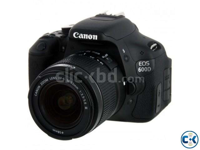 Canon 600D with 18-55mm lens brand new | ClickBD large image 3
