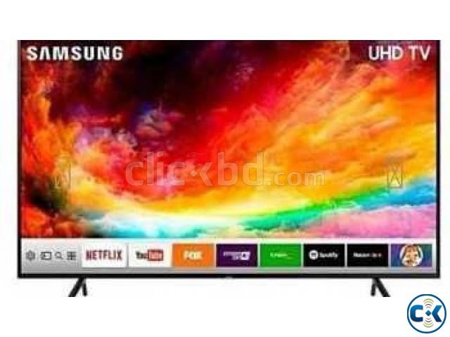 Samsung NU7100 HDR 4K UHD 65 TV With 5 Years Warranty | ClickBD large image 0