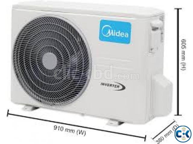 MEDIA 1.5 TON wi-fi INVERTER Split AC With Warranty | ClickBD large image 2