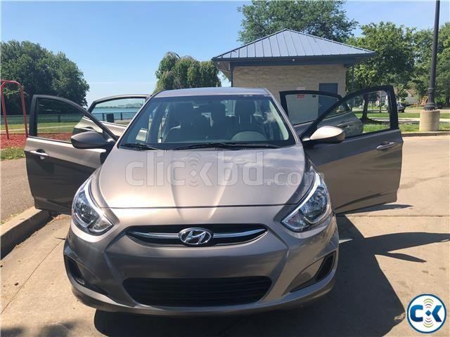 2017 Hyundai Accent SE 37k Miles | ClickBD large image 0