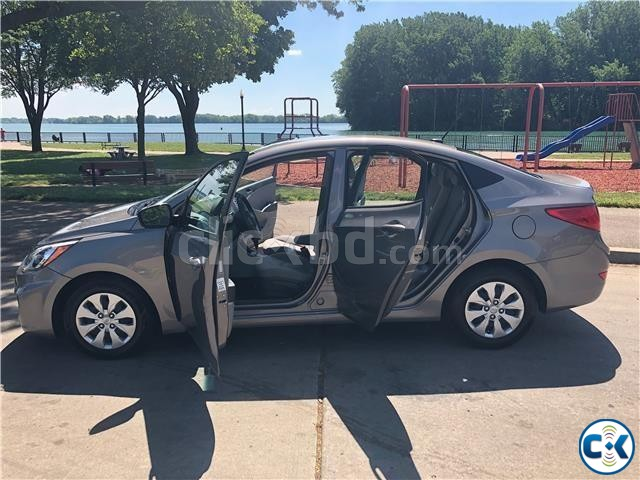 2017 Hyundai Accent SE 37k Miles | ClickBD large image 3