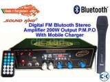 BLUETOOTH AMPLIFIER WITH MOBILE CHARGER