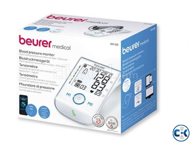 Beurer BM 85 Rechargeable Digital Blood Pressur monitor | ClickBD large image 1