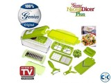 Original genius nicer dicer plus multi vegetable fruit cutte