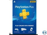 PS PLUS GIFT CARD 1 MONTH
