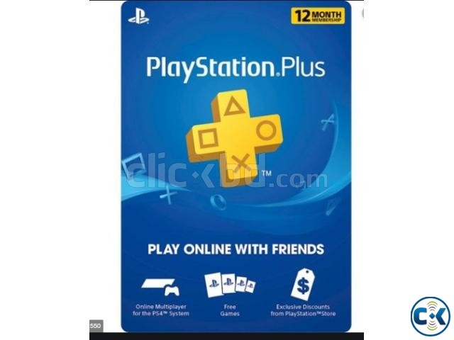 PS PLUS GIFT CARD 1 MONTH | ClickBD large image 0