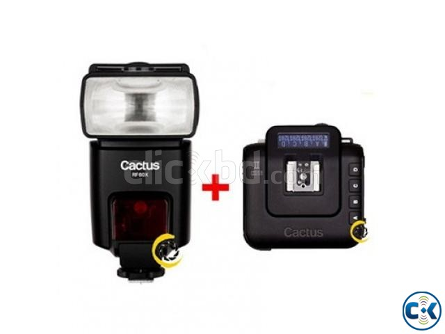 Cactus RF-60x High-Speed Sync Flash with V6 II Combo Pack | ClickBD large image 0