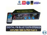 BLUETOOTH AMPLIFIER 150W P.M.P.O