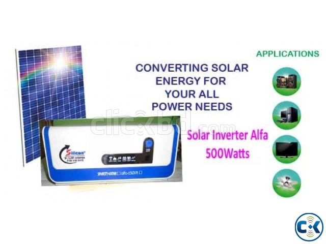 SOLAR INVERTER 500Watts ONLY UNIT | ClickBD large image 0