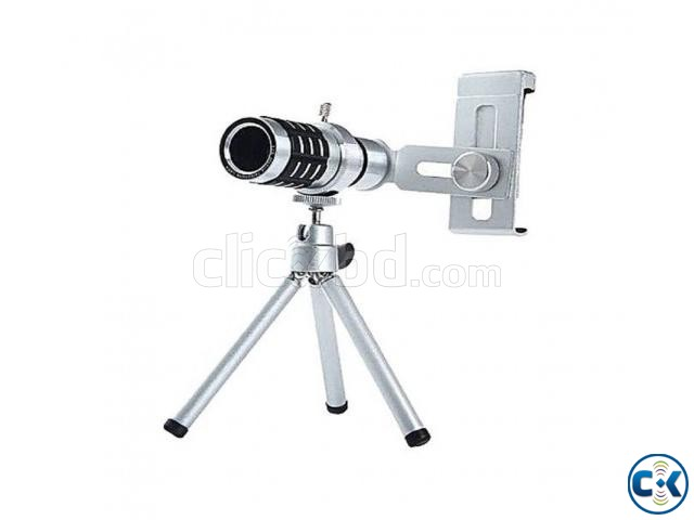 Universal 12X Zoom Telescope Mobile Phone Lens | ClickBD large image 2