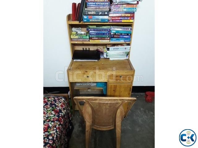 Reading Table and chair | ClickBD large image 1