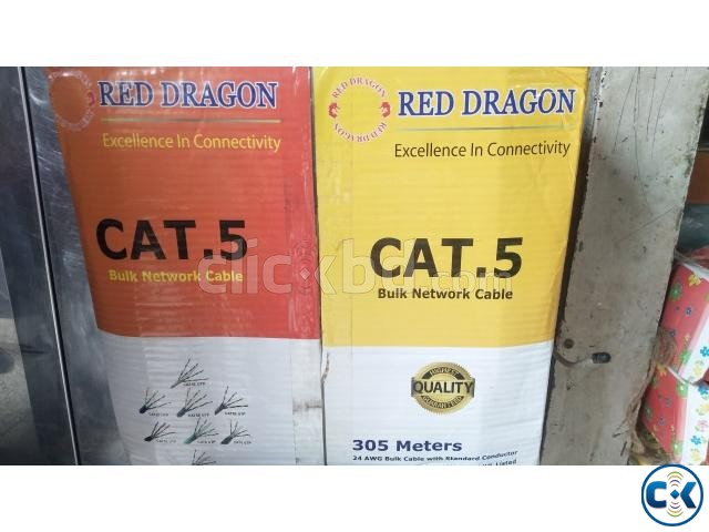 Red dragon cat 5 UTP Cable | ClickBD large image 0