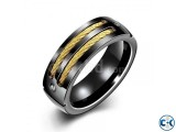 Black Finger Ring For Men