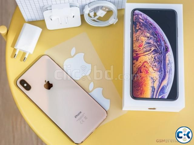 Brand New Apple iphone XS Max 64GB Sealed 1 Yr Official Wrnt | ClickBD large image 1