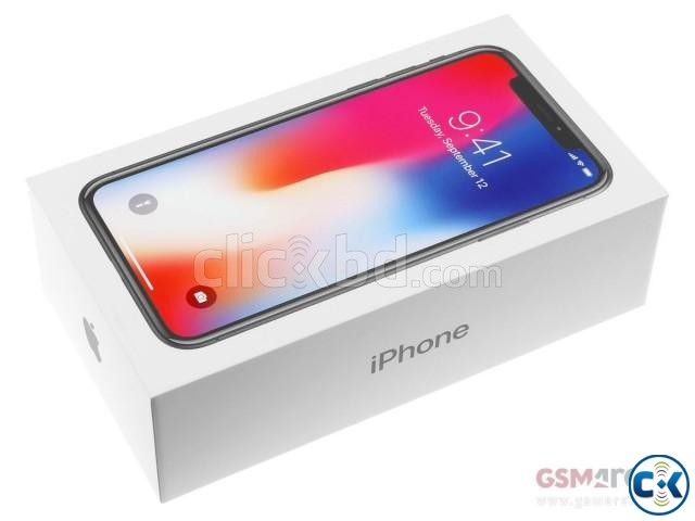 Brand New Apple iphone X 64GB Sealed Pack 3 Yr Wrrnty | ClickBD large image 1