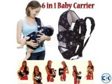 6 in 1 New Multifunction Safety Baby Carrier