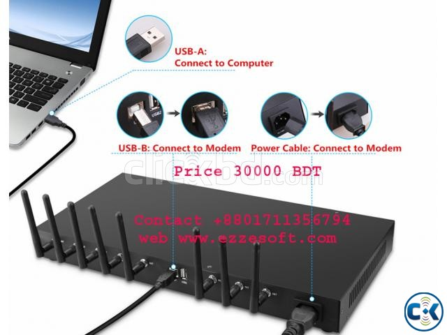 8 port modem Available 30000 BDT in Bangladesh | ClickBD large image 0