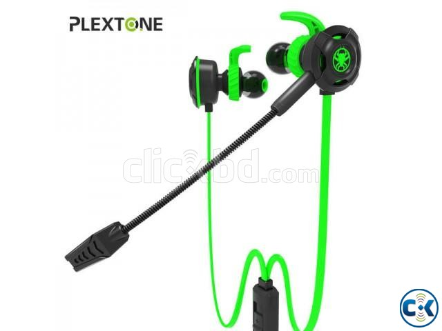 Plextone G30 Game Earphone Noise Cancelling Wired Earphone | ClickBD large image 0