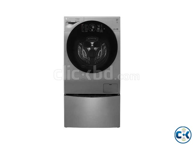 LG Superior Washer and Dryer with True Steam FH4G1JCHK6N | ClickBD large image 0