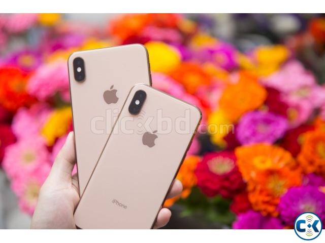 Apple iphone XS Max 256GB Glod Sealed Pack 3 Yr Warranty | ClickBD large image 3
