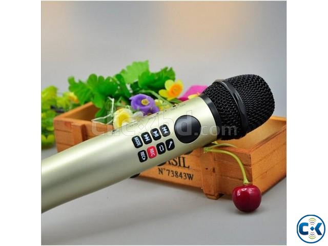 Karaoke Bluetooth Microphone Speaker- 9w Best Sound Quality | ClickBD large image 0