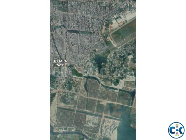 Vacant Plots and Multi storied buildings for sale Uttara | ClickBD large image 0