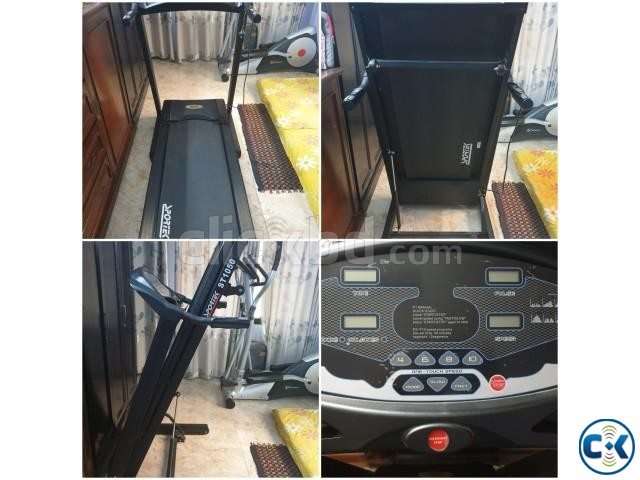 Fully functional electronic treadmill for sale | ClickBD large image 0