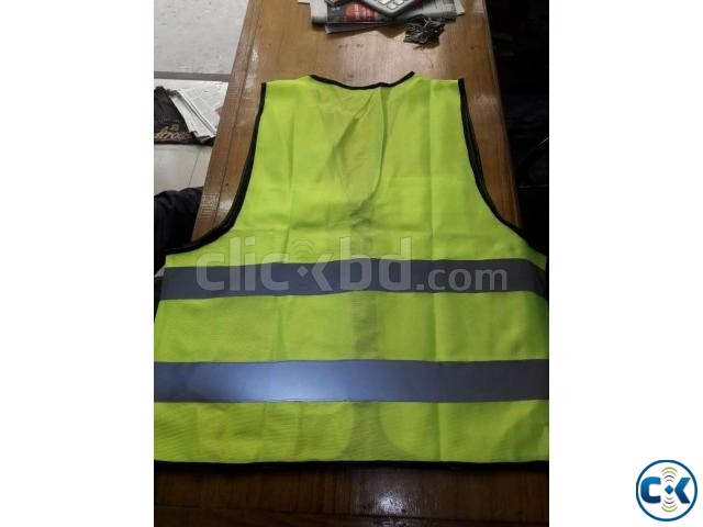Safety Vest GREEN Code No-54  | ClickBD large image 1