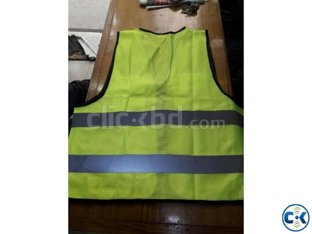 Safety Vest GREEN Code No-54  | ClickBD large image 2