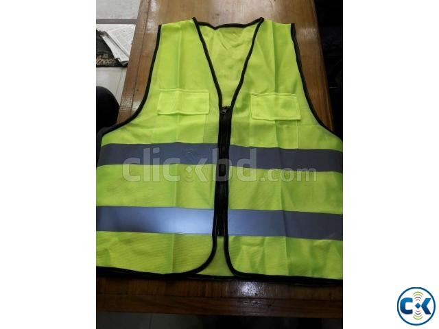 Safety Vest GREEN Code No-54  | ClickBD large image 3