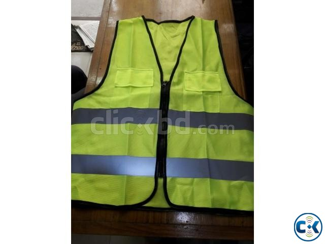 Safety Vest GREEN Code No-54  | ClickBD large image 4