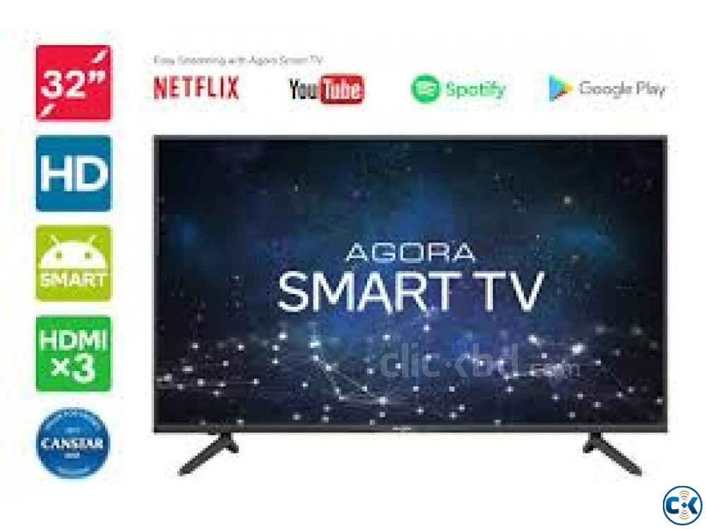Android 32 LED Smart TV WiFi | ClickBD large image 0