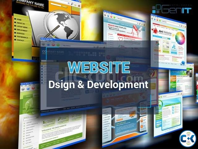 Best Website Design company in Bangladesh | ClickBD large image 0