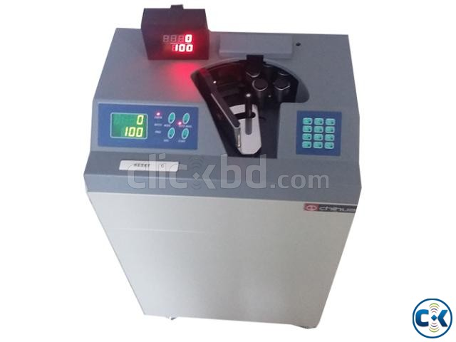 CHIHUA CH-600A Vacuum Type Bank bundle Note counting mac | ClickBD large image 1