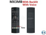 Mx3 Air Mouse 2.4G Mini Backlight Wireless Keyboard Remote