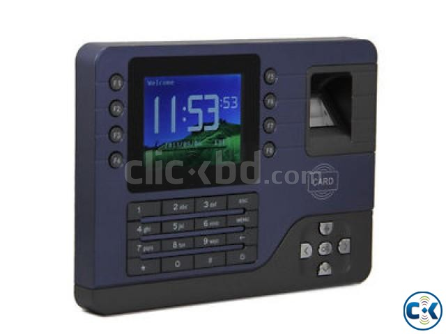AC091 biometric fingerprint time attendance device | ClickBD large image 0