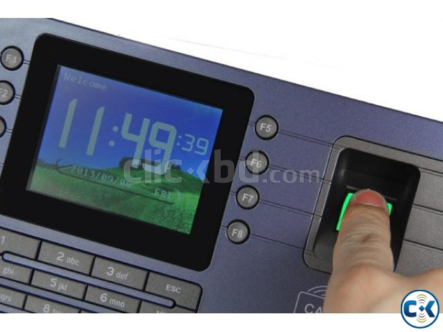 AC091 biometric fingerprint time attendance device | ClickBD large image 1