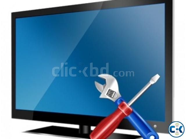 SHARP ALL LED LCD 4K 3D SMART TV REPAIR SERVICING CENTER | ClickBD large image 0