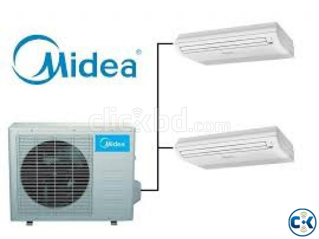 Air Conditioner MIDEA 3.0 Ton Celling Cassette Type ac | ClickBD large image 0