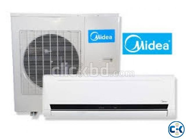 WITH WARRANTY MIDEA AC 2.0 TON SPILT TYPE | ClickBD large image 0