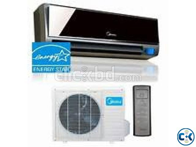 WITH WARRANTY MIDEA AC 2.0 TON SPILT TYPE | ClickBD large image 1