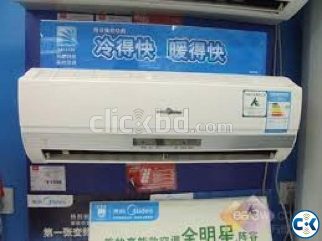 WITH WARRANTY MIDEA AC 2.0 TON SPILT TYPE | ClickBD large image 2