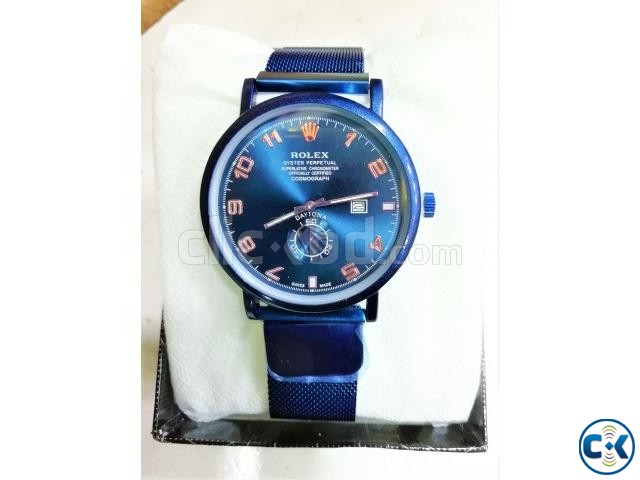 Blue Magnet Watch | ClickBD large image 0