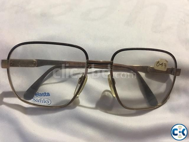 VINTAGE SAFILO ELASTA FOR MEN ELASTA 3070 EYEGLASSES | ClickBD large image 0