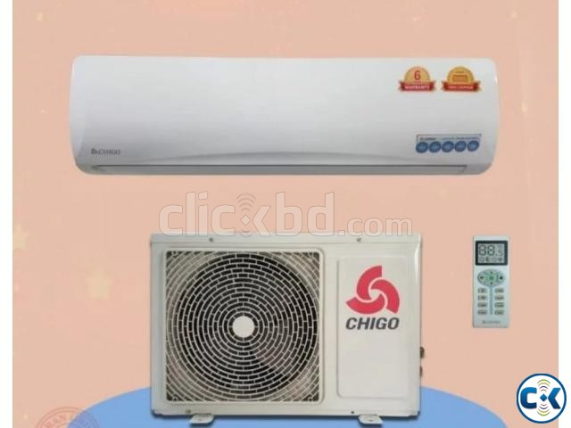 Brand New Chigo 18000 BTU 1.5 Ton AC With warranty C51L3A | ClickBD large image 0