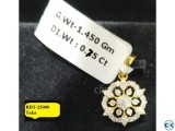 Diamond with Gold pendant 40 OFF