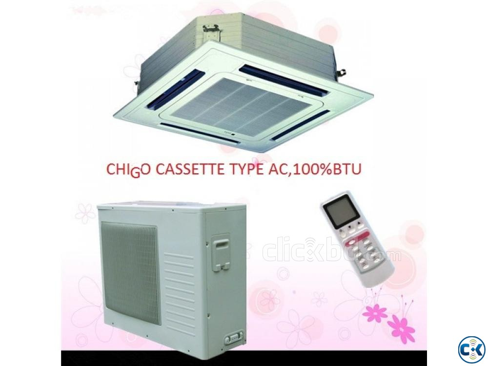 Chigo 3 Ton Air Conditioner With Warranty 3 yrs | ClickBD large image 0