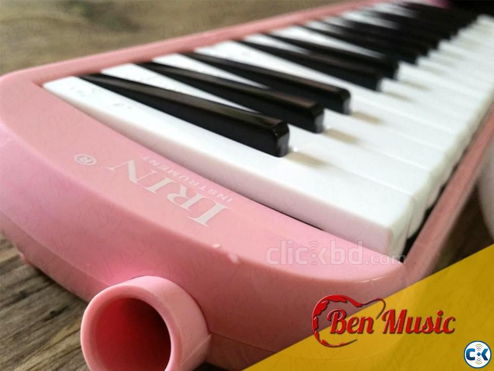 32 Keys Melodica Blowpipe Mouth Organ | ClickBD large image 0